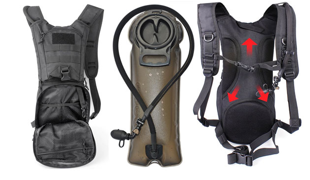 Unigear Tactical Hydration MTB Pack