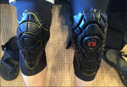 G-Form Elite Knee Pads- bicycle knee pads