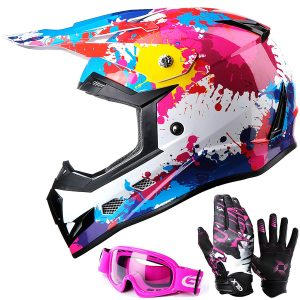 how much does a dirt bike helmet cost
