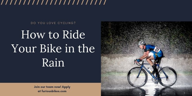 How to Ride Your Bike in the Rain